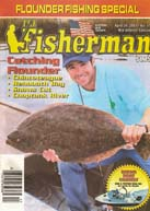 the fisherman magazine cover shot, fishing, time out, guide service
