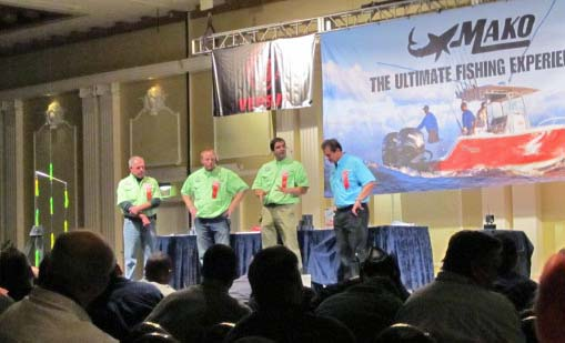 Saltwater sportsman held their seminar series in Atlantic City and featured Capt Scott Newhall discussing fluke fishing charters in south jersey.
